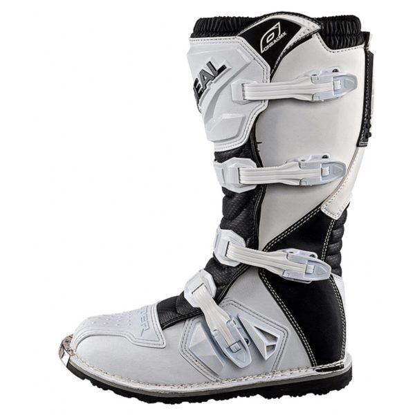 Мотоботы кроссовые Rider Boot белые фото 4