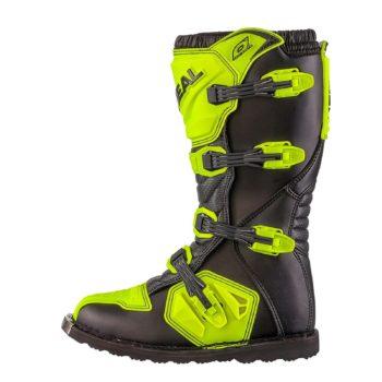 Мотоботы кроссовые Rider Boot флуоресцентно-желтые фото 2