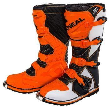 Мотоботы кроссовые Rider Boot оранжевые фото 1