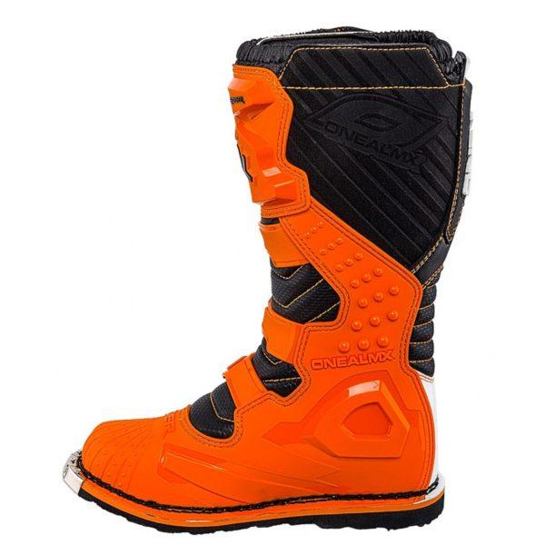 Мотоботы кроссовые Rider Boot оранжевые фото 2
