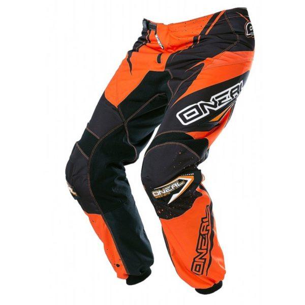 Штаны ELEMENT RACEWEAR чёрно-оранжевые фото 1