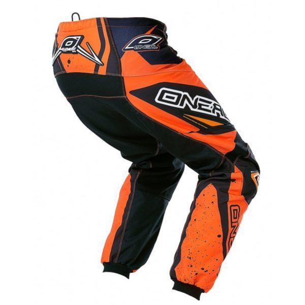 Штаны ELEMENT RACEWEAR чёрно-оранжевые фото 2