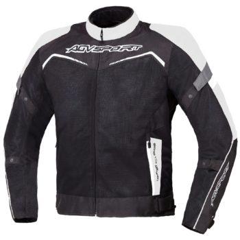 Текстильная куртка Testilo черно-белая фото 1