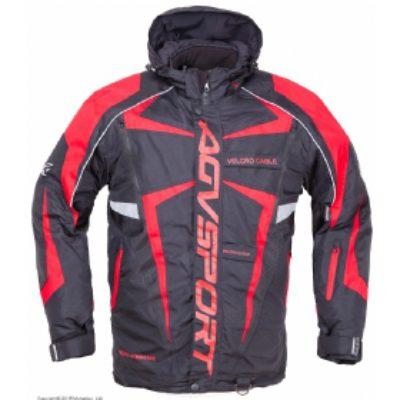 AGVSPORT Снегоходная куртка ARCTIC II,черная/красная
