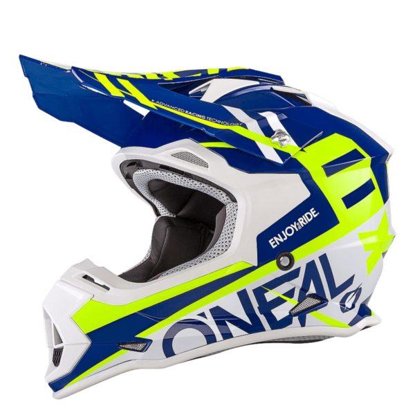 ONEAL Шлем кроссовый 2Series RL SPYDE синий