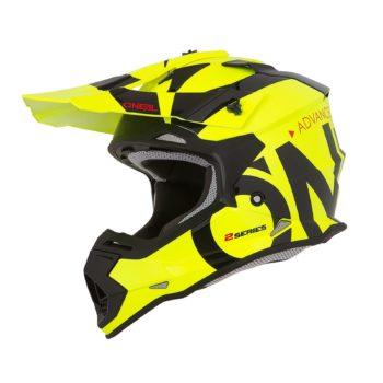 ONEAL Шлем кроссовый 2Series RL SLICK желтый