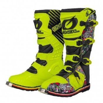 ONEAL Мотоботы кроссовые RIDER Boot серые