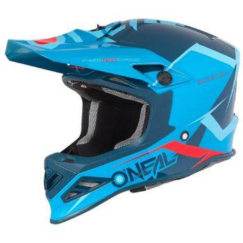 Oneal Шлем кроссовый 8SERIES BLIZZARD синий