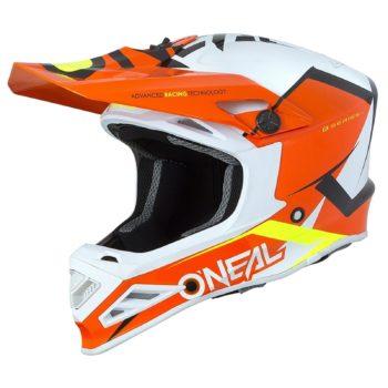 ONEAL Шлем кроссовый 8SERIES BLIZZARD оранжевый