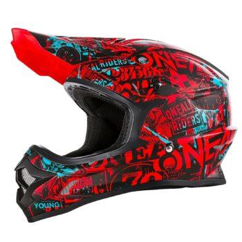 ONEAL Шлем кроссовый 3SERIES ATTACK красный