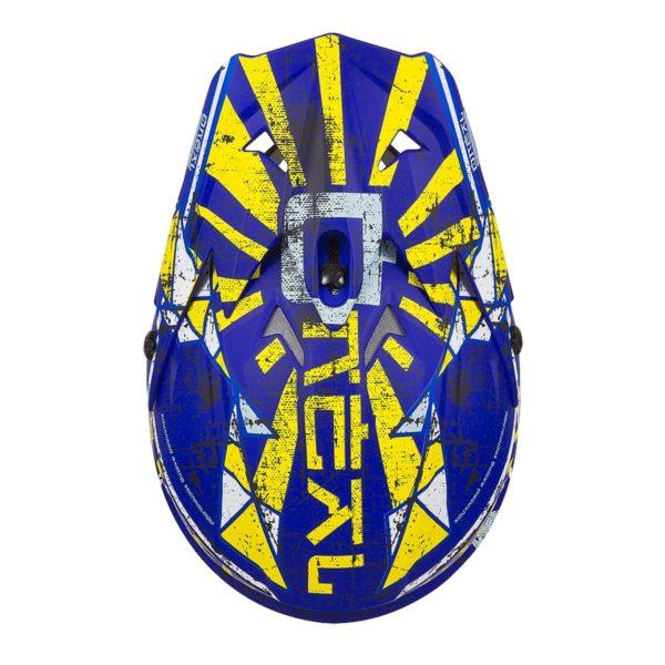 ONEAL Шлем кроссовый 3SERIES ZEN синий