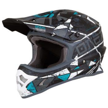 ONEAL Шлем кроссовый 3SERIES ZEN teal
