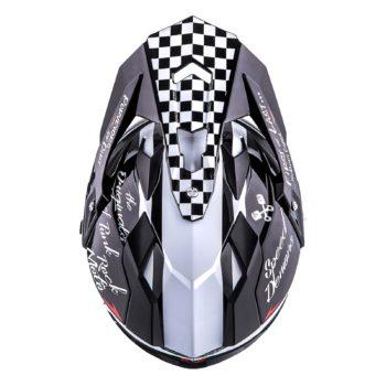 ONEAL Шлем кроссовый со стеклом Sierra II TORMENT