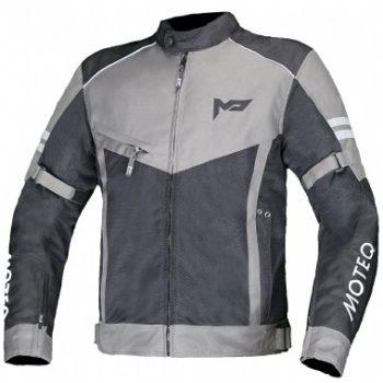 MOTEQ Текстильная куртка AIRFLOW серая