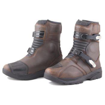 MOTEQ Туристические мотоботинки Chucky коричневые
