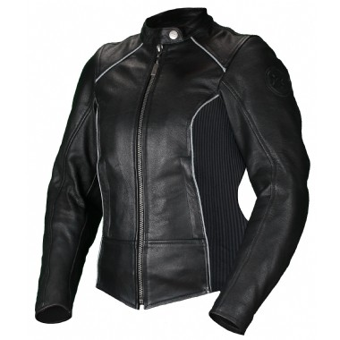 MOTEQ Кожаная женская куртка Mira