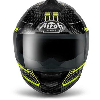 Airoch Шлем интеграл St 701 черно-желтый карбон