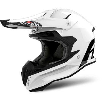 Airoch Шлем кроссовый Terminator Open Vision белый