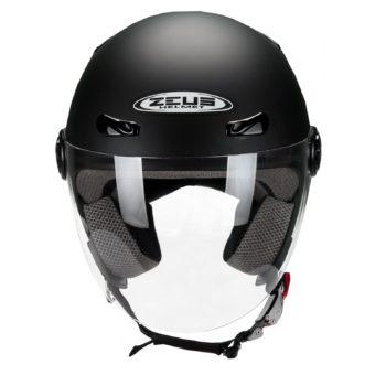 ZEUS Открытый шлем ZS-210B черный матовый