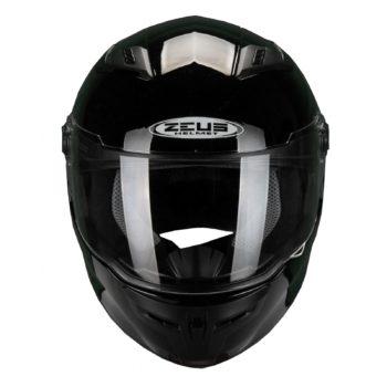ZEUS Шлем интеграл ZS-813A черный глянец