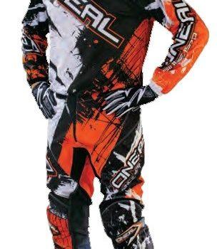 ONEAL Штаны Elements SHOCKER чёрно-оранжевые