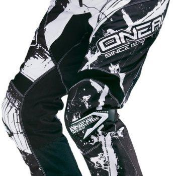 ONEAL Штаны Elements SHOCKER чёрно-белые