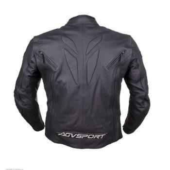 AGVSPORT Мотоциклетная кожаная куртка Dragon черная