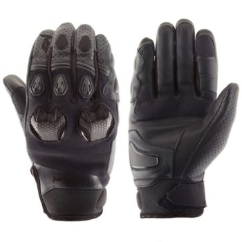 MOTEQ Кожаные перчатки Stinger черные
