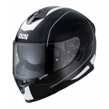IXS Шлем интеграл HX 1100 2.0 черно-белый глянец