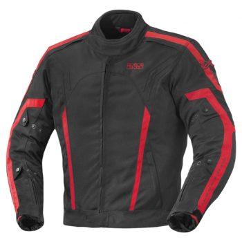 IXS Куртка текстильная Randell черно-красная