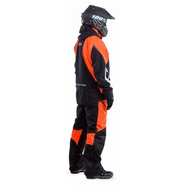 DRAGONFLY Снегоходная куртка Sport 2019 Black-Orange