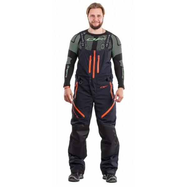 DRAGONFLY Снегоходные штаны Sport Black-Red 2019