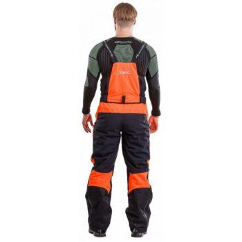 DRAGONFLY Снегоходные штаны Sport Black-Orange 2019