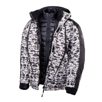 AGVSPORT Снегоходная зимняя куртка Pixel 2 в 1