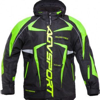 AGVSPORT Снегоходная куртка ARCTIC II,черная/желтая