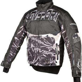 AGVSPORT Снегоходная куртка Taiga, черная.