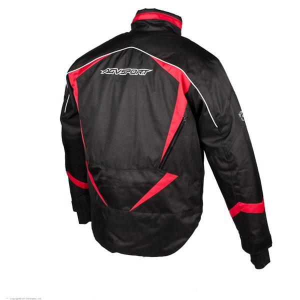 AGVSPORT Снегоходная куртка ARCTIC черная/красная