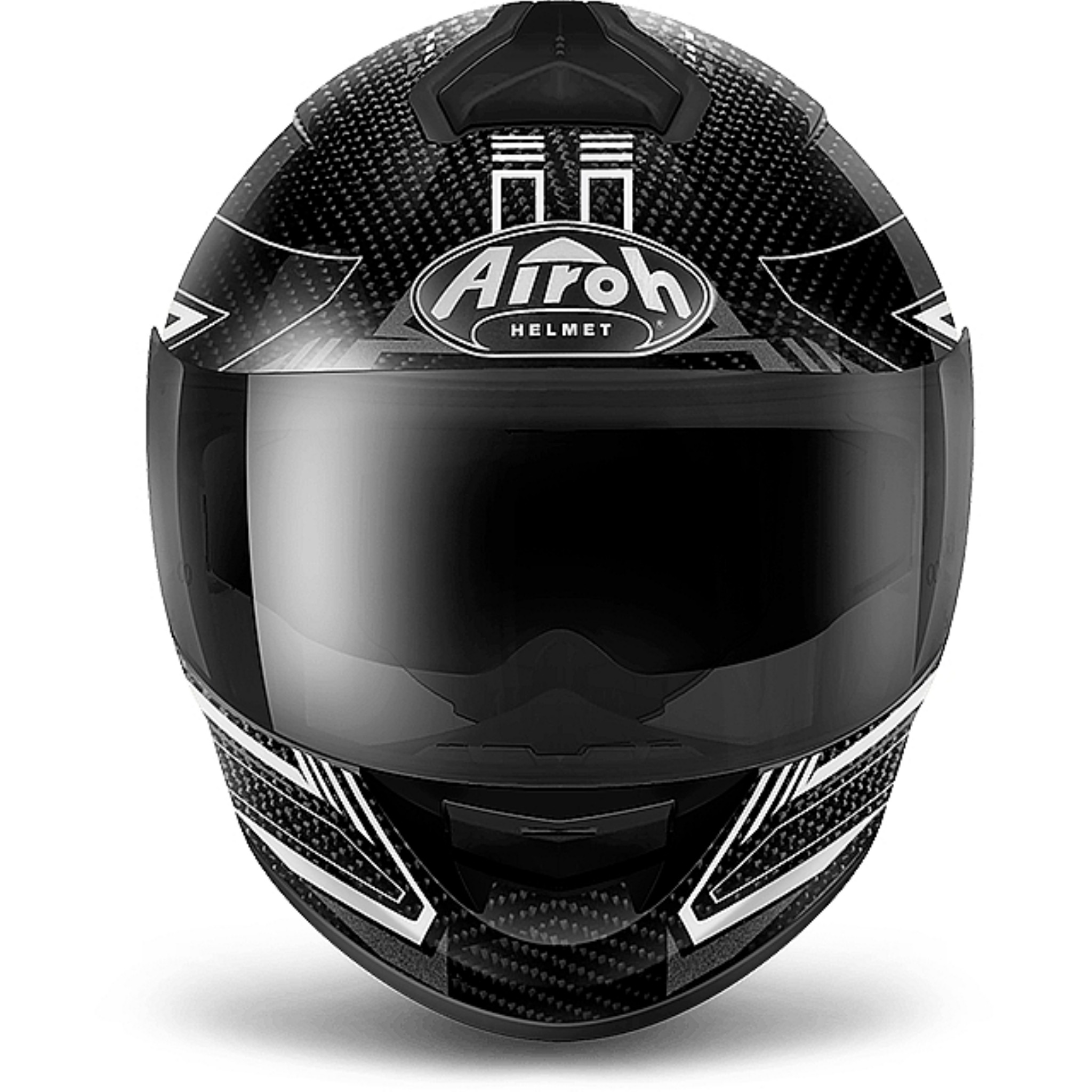Airoh Шлем интеграл St 701 черный карбон