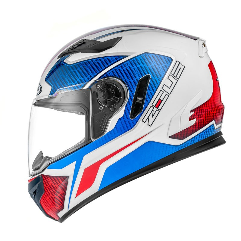 ZEUS Шлем интеграл ZS-813A сине-белый