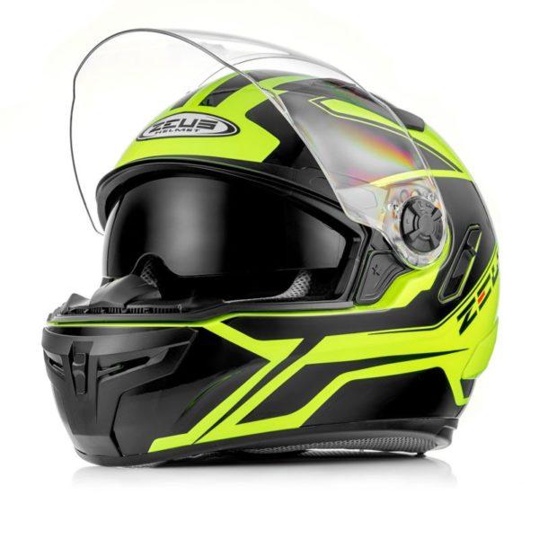 ZEUS Шлем интеграл ZS-813A черно-желтый